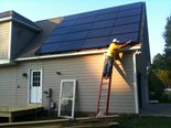 At the request of Yes! Solar Solutions, RB Engineering, Inc. performed a structural evaluation of the subject residence located in Apex, North Carolina.  This project consisted of a 20 panel solar system.  Residential solar installations are becoming more visible in North Carolina.